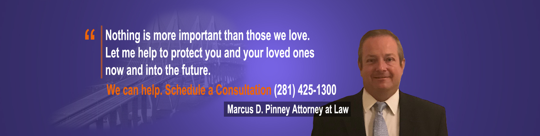 Baytown Lawyer Marcus D. Pinney